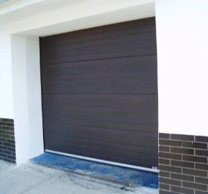 garážová vrata TB stav